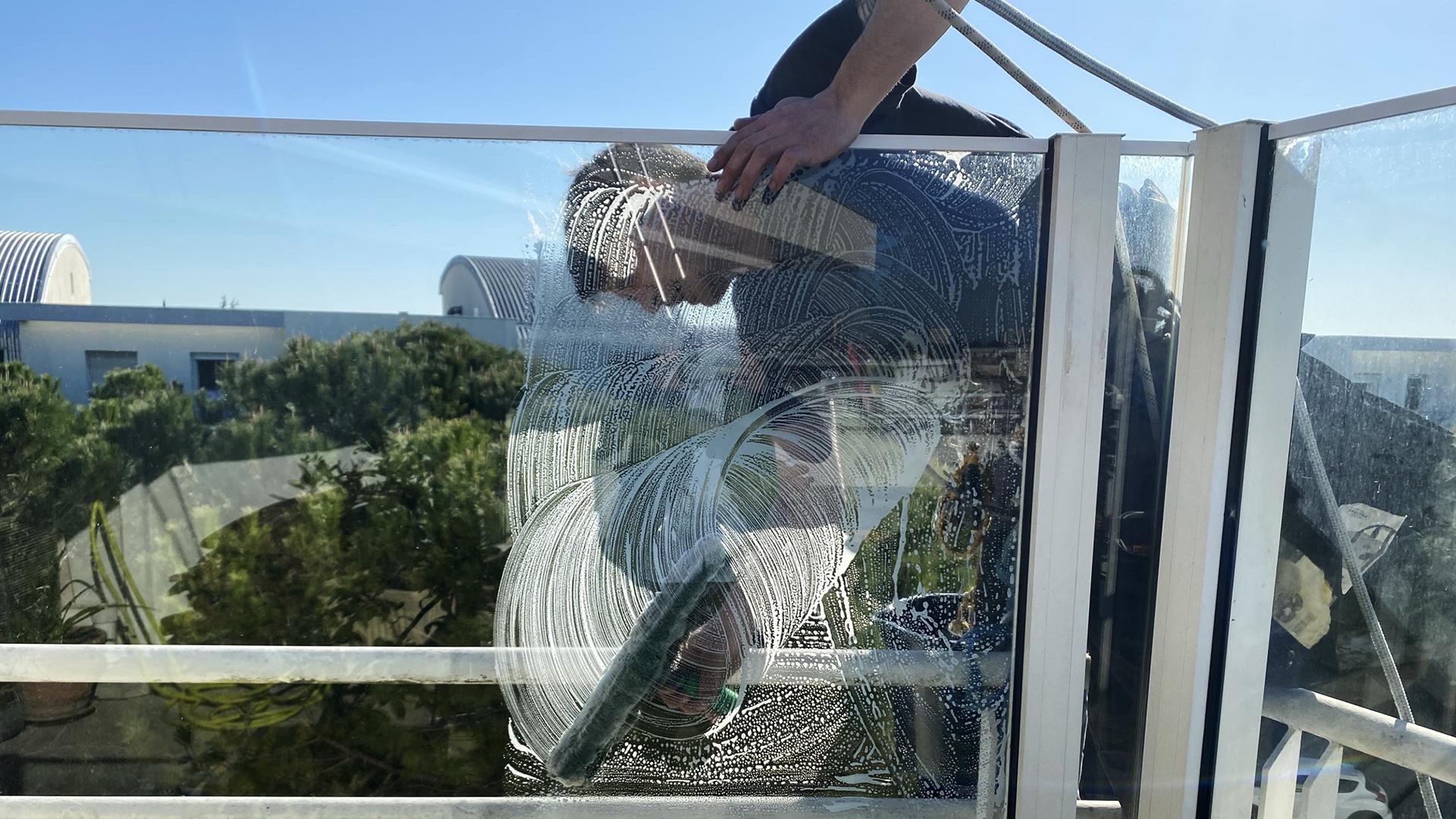 Laveurs vitre salariés